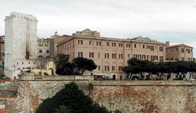 The Rectorat in Cagliari