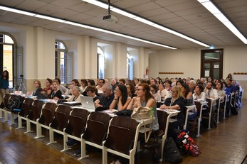 Un momento del World WoMen Hegelian Congress 2018 (sessione in Aula VI)
