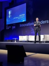 Biggio sul palco dell'Innovation Leaders Summit