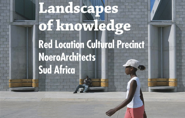 Landscapes of knowledge Red Location, a fondo pagina il link per scaricare la locandina